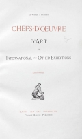 Cover of Chefs-d'oeuvre d'art of the International Exhibitions