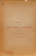 Cover of Chefs-d'oeuvre de l'Exposition universelle de Paris, 1889