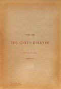 Cover of Chefs-d'oeuvre de l'Exposition universelle de Paris, 1889