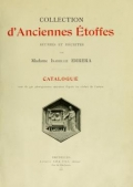 Cover of Collection d'anciennes étoffes
