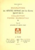 """Cover of """"Collection P. Barboutau Peintures-estampes & Objets d'Art du Japon dont la vente aura lieu le 3 juin et jours suivants, a l'Hotel Drouot, Salle N8"""""""