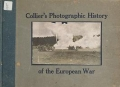 Cover of Collier's photographic history of the European War