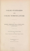 "Cover of ""Color standards and color nomenclature"""