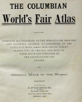 Cover of The Columbian World's Fair atlas