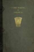 Cover of Comb making in America