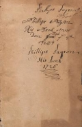 Cover of A commonplace book