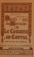 Cover of Le costume en Egypte