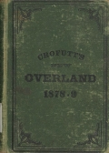 Cover of Crofutt's new overland tourist and Pacific coast guide