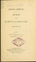 Cover of Dakota odowan