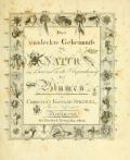 """Cover of """"Das entdeckte Geheimniss der Natur im Bau und in der Befruchtung der Blumen"""""""