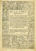 """Cover of """"De la pirotechnia"""""""