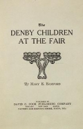 Cover of The Denby children at the fair