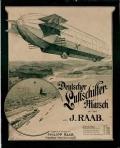 """Cover of """"Deutscher Luftschiffer-Marsch"""""""