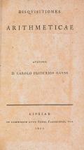 Cover of Disquisitiones arithmeticae