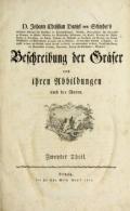 Cover of D. Johann Christian Daniel Schrebers- Beschreibung der Gralser