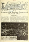 "Cover of ""The Electrical experimenter Vol. 8 (May-July, 1920)"""