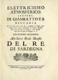 Cover of Elettricismo atmosferico