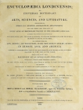 Cover of Encyclopaedia londinensis, or, Universal dictionary of arts, sciences, and literature v.15 (1817)
