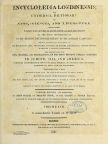 Cover of Encyclopaedia londinensis, or, Universal dictionary of arts, sciences, and literature v.17 (1820)