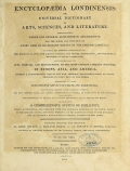 Cover of Encyclopaedia londinensis, or, Universal dictionary of arts, sciences, and literature v.8 (1810)