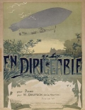 "Cover of ""En dirigeable"""