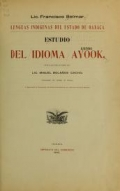 Cover of Estudio del idioma ayook