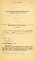 Cover of Estudos ichthyologicos ácerca da fauna dos dominios portuguezes na Africa