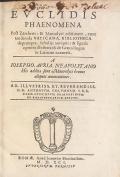 Cover of Euclidis Phaenomena post Zamberti & Maurolyci editionem