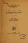 Cover of The Excavation of Hawikuh by Frederick Webb Hodge