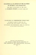 Cover of Exceptional Examples of the Masters of Etching and Engraving