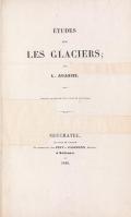 Cover of Études sur les glaciers