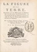 Cover of La figure de la terre, déterminée par les observations de messieurs Bouguer & de La Condamine, de l'Académie royale des sçiences, envoyés par ord
