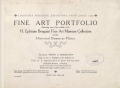 Cover of Fine art portfolio