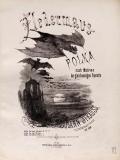 """Cover of """"Fledermaus-Polka"""""""