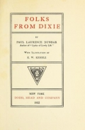 Cover of Folks from Dixie)