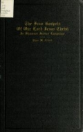 Cover of The four Gospels of Our Lord Jesus Christ in Shawnee Indian language