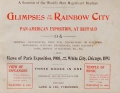 "Cover of ""Glimpses of The Rainbow City, Pan-American Exposition, at Buffalo"""
