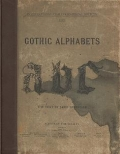 "Cover of ""Gothic alphabets"""