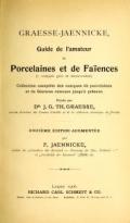 Cover of Graesse-Jaenicke