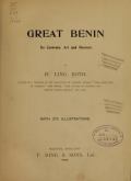 Cover of Great Benin