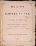 Cover of The growth of industrial art
