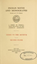 Cover of Guide to the museum, second floor