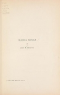 Cover of Haida songs