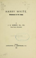 Cover of Harry White, missionary to the Congo