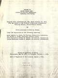 "Cover of ""History of United States Army School of Military Aeronautics, Berkeley, California"""