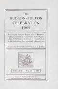 Cover of The Hudson-Fulton celebration, 1909