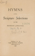 Cover of Hymns and scripture selections