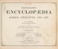 Cover of Iconographic encyclopaedia of science, literature, and art v. 2