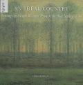 """Cover of """"An ideal country : paintings by Dwight William Tryon in the Freer Gallery of Art /"""""""