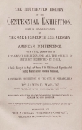 Cover of The illustrated history of the Centennial exhibition